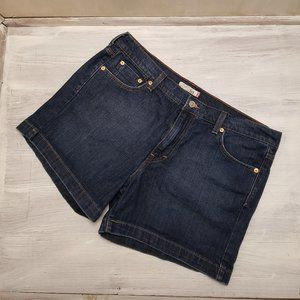 Levi's Dark Wash Jean Shorts